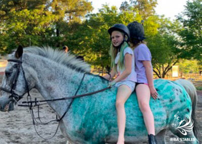 Halloween outride and events at Riba Stables in Kyalami