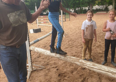 Pony camp at Riba Stables in Kyalami