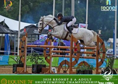 Riba Stables show jumping Kyalami